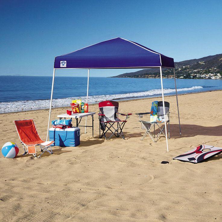 Pop Up Canopy 10x10 Gazebo Portable Beach Garden Picnic Sun Shade Party Tent #Zshade