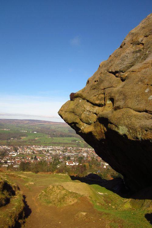 Ilkley Moor, West Yorkshire England
