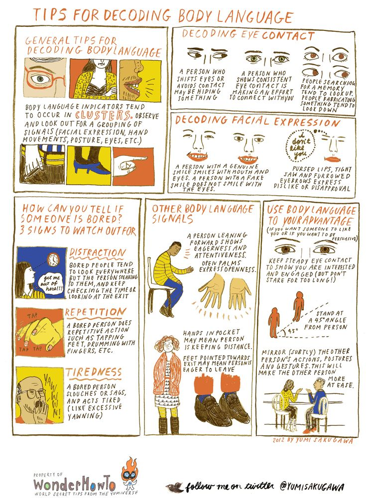 Tips for Understanding and Decoding Body Language #psychology #criminology