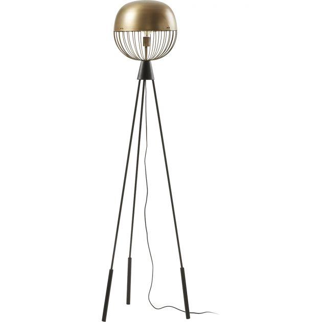 Vloerlamp Bergen brons