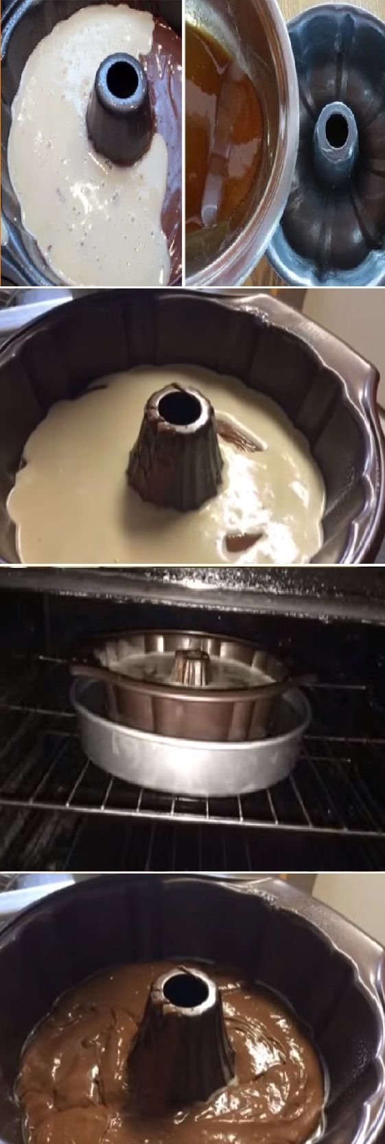 Como Hacer ChocoFlan o Pastel Imposible, Si te gusta dinos HOLA y dale a Me Gusta #chocolate #postres #receta #recipe #gelato #chocoflan #cocina #nestlecocina #pastel   Caramel suace que ya también tengo el video!!! No olviden precalentar el horno a 350*F. Tiempo de cocción 1:40 minu...