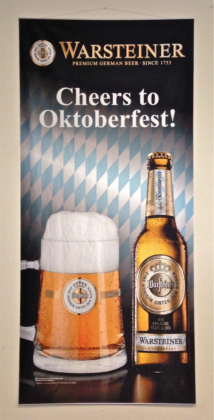 Warsteiner Octoberfest Banner