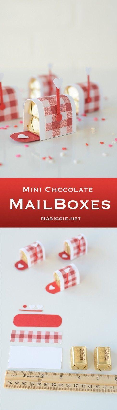 Mini Chocolate Valentine's Day chocolates