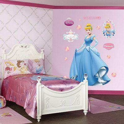 princess bedroom decorations princess them bedroom wall decor