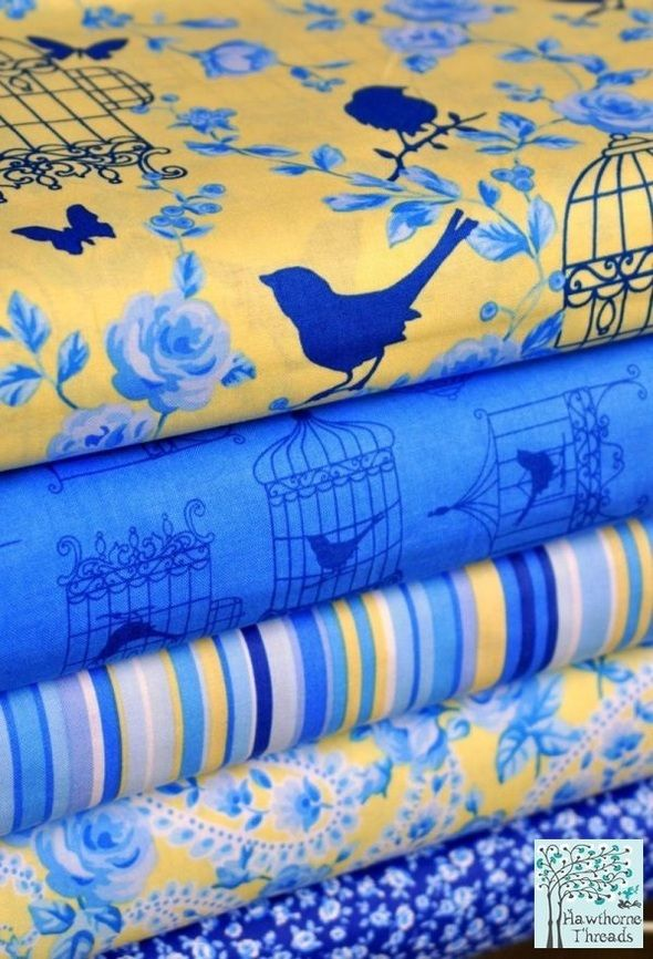 Navy/yellow inspiration - need to find this fabric