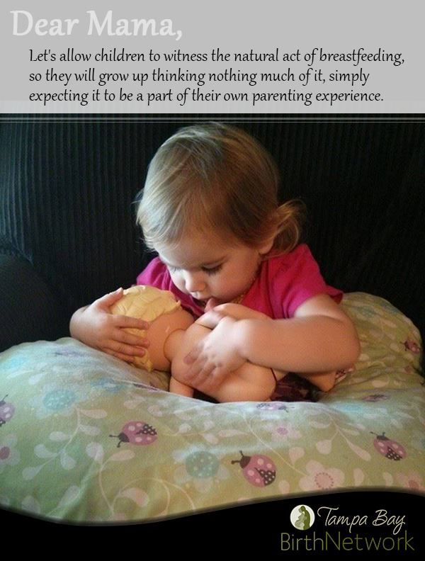 What to do If Your Child Sees A Woman Breastfeeding | All's Fair in Love and Words Blog