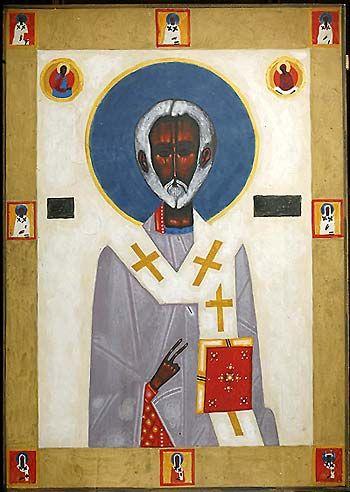Jerzy Nowosielski (1923-2011), Św. Mikołaj / St. Nicolas