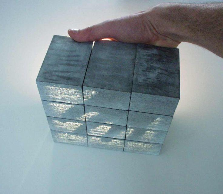 Béton translucide concrete  Byzance design