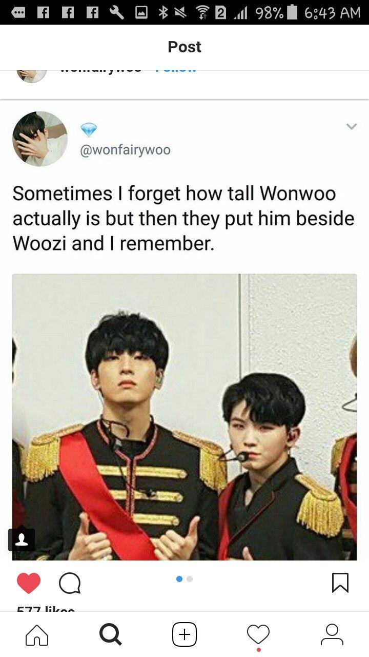 Seventeen Meme Kpop Seventeen Seventeen Wonwoo