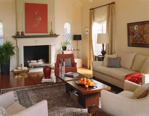 Living Room W/red Accents Part 25