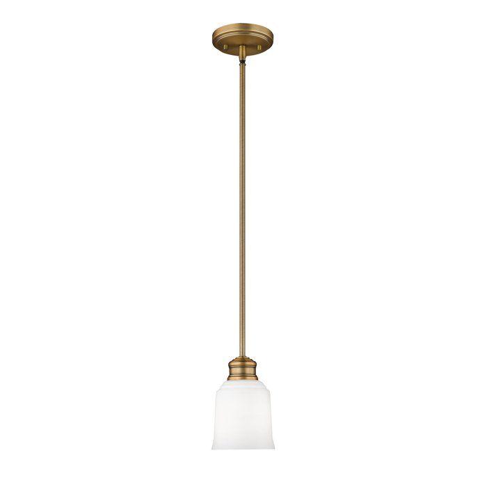 Zeke 1 Light Single Bell Pendant In 2020 Pendant Light Fixtures Millennium Lighting Pendant Light