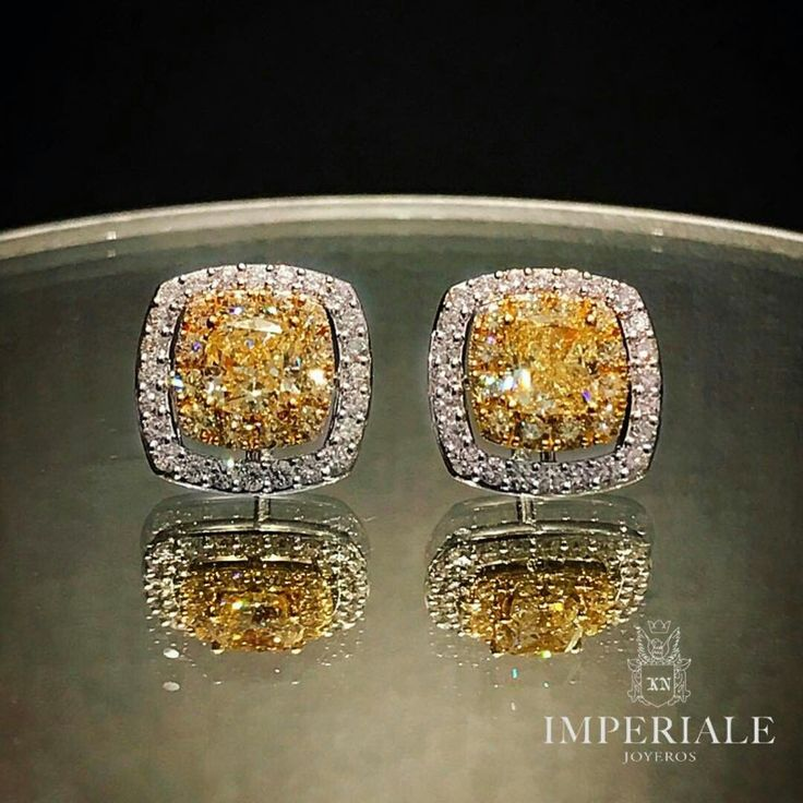 Fancy Yellow Diamond Earrings. Exclusive Jewels by Imperiale. #GeneracionesDeExcelencia
