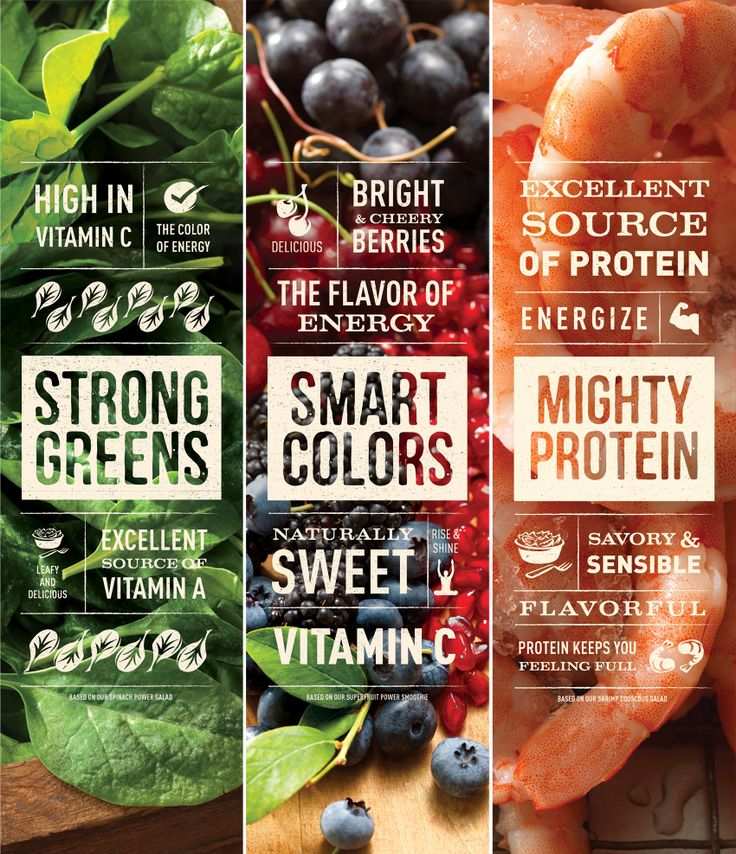 New work for Jan '14. Panera: Flavor of Energy by Willoughby Design