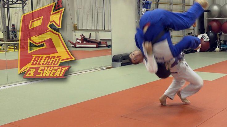 Грузинский бросок (гадаули). Дзюдо. Judo. Gadauli throw.