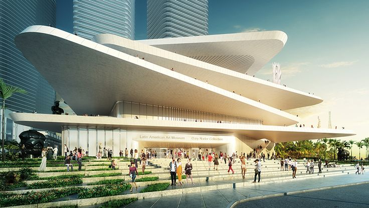 FR-EE / Fernando Romero EnterprisE Reveals Latin American Art Museum for Miami