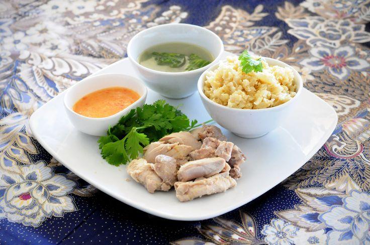 Hainanese Chicken Cauli-Rice