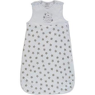 Bebe Bonito 2.5 Tog White Star Print Sleeping Bag