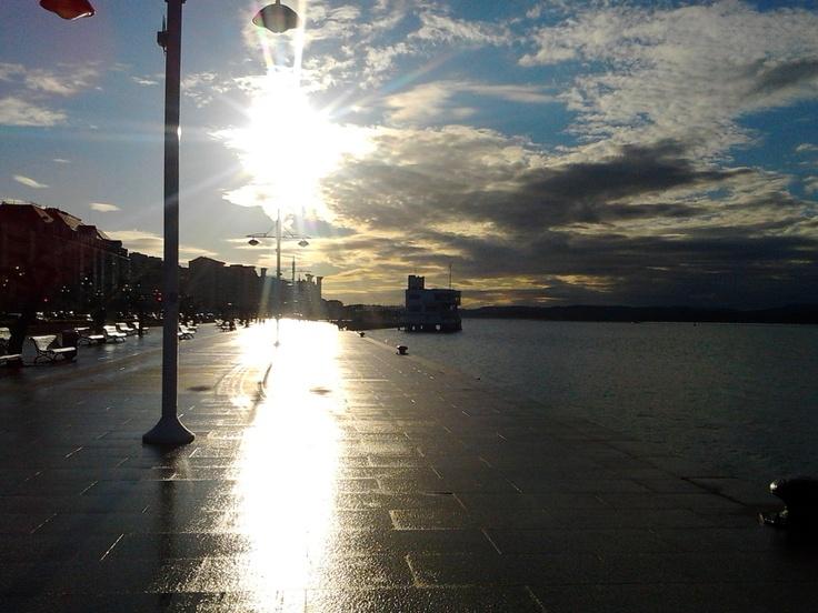 Muelle de Santander el 29/04/2012