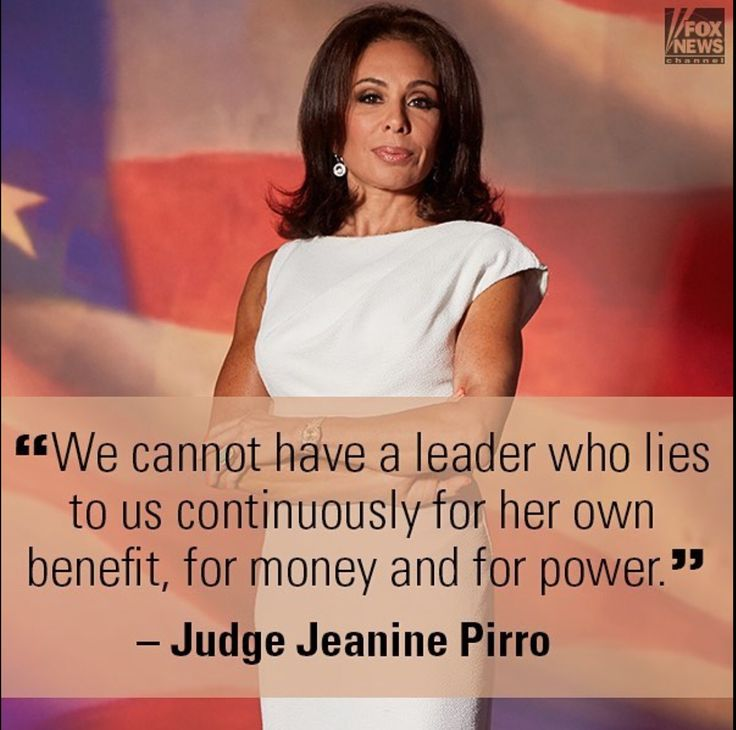 24 Unknown Facts about Hillary Clinton Judge Pirro should be running not Hillary! Hillary lies and only cares about…