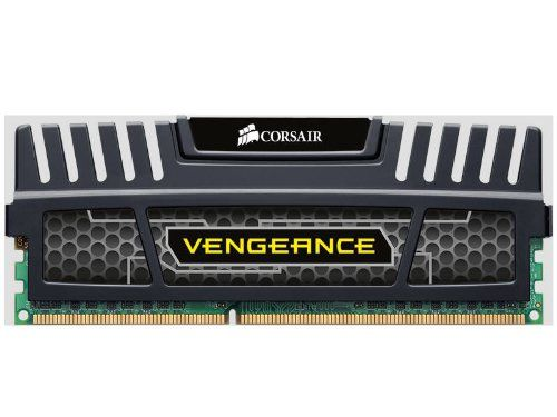 Corsair Vengeance  8GB (2x4GB)  DDR3 1866 MHZ (PC3 15000) Desktop Memory (CMZ8GX3M2A1866C9). Dual-channel, 240-pin, Ddr3, Dimm, Pc3-15000 (1866mhz). SPD Voltage: 1.5 Volts. Tested Latency: 9-10-9-27. Tested Speed: 1866Mhz. Lifetime Warranty. CORSAIR high performance Vengeance memory module 8GB ( 2 x 4GB ) 1866MHz 9-9-9-24, 1.5V for motherboards using AMD, Intel dual channel processors and upcoming 2nd Generation Intel Core platforms. SPD Latency: 9-9-9-24. SPD Speed: 1333Mhz.