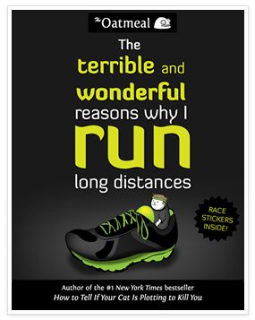 The terrible and wonderful reasons why I run long distances - the book. Vinnie's wish list.