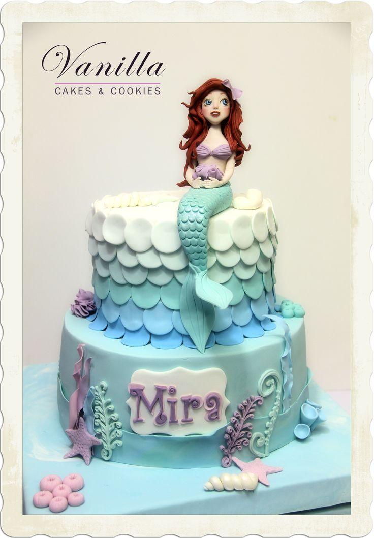Ariel Pastası, Bebekler için Ariel Pastası, Ariel Cake