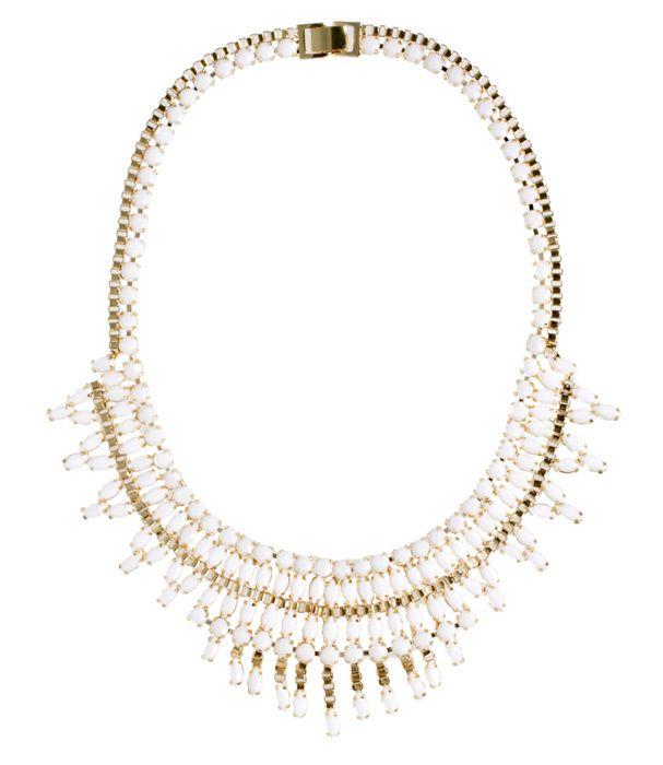 Un collier perlé