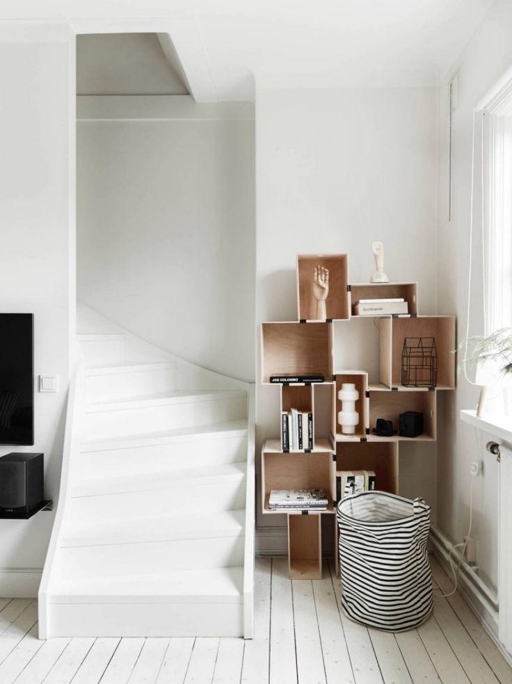 Elegant Deko f rs Wohnzimmer im skandinavischen Stil Bilder