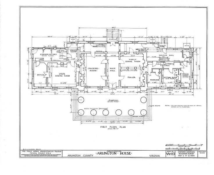 Arlington house floor plan 28 images arlington house for Washington house plans