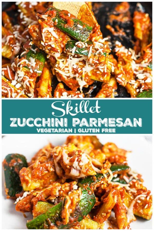 Skillet Zucchini Parmesan