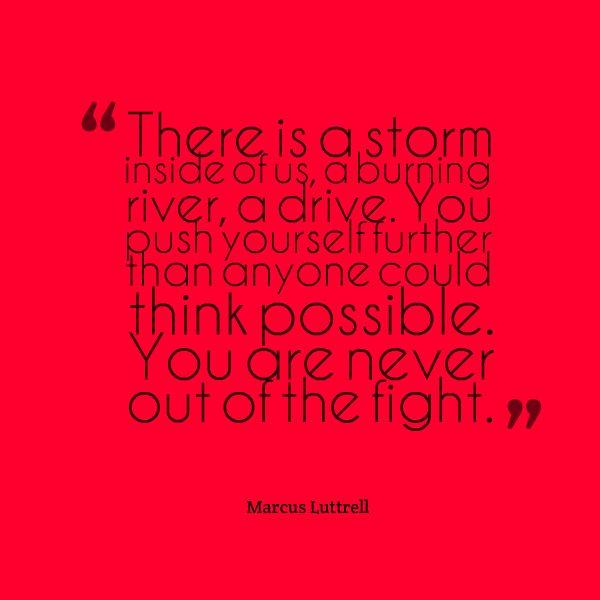 Storm inside us - Marcus Luttrell #marcusluttrell #storminside #leadership