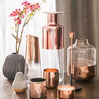 The 25 best ideas about copper interior on pinterest for Deco maison rose gold