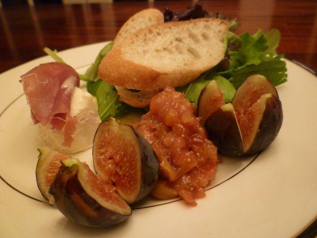 Insalata con Fichi, Formaggio di Capra e Mostarda  http://www.chefbikeski.com/?p=2477