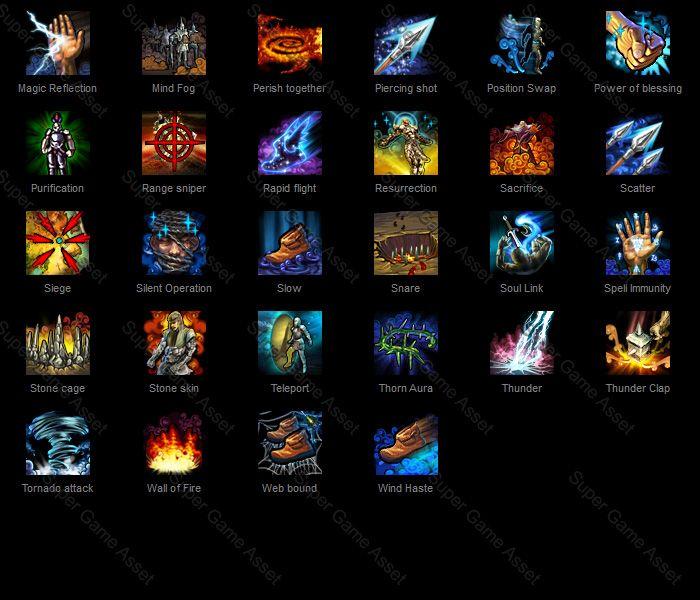 Fantasy RPG Hero Skill 02 by yinakoSGA