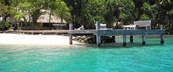 www.ikh.villas  Tavanipupu Private Island   Resort is located in Marau Sound, Solomon Islands.