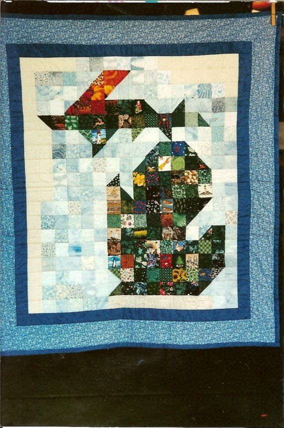 State Of Michigan Quilt Block Pattern Wall Hanging