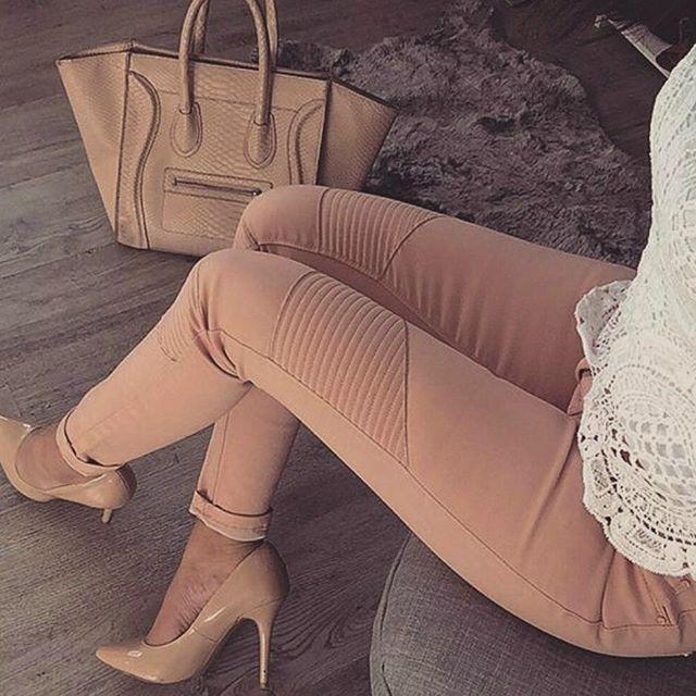 Nude jeans ✖ Celine Bag