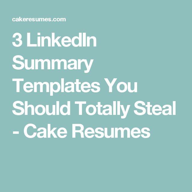 Best 25+ Linkedin summary ideas on Pinterest Accounting - job summaries