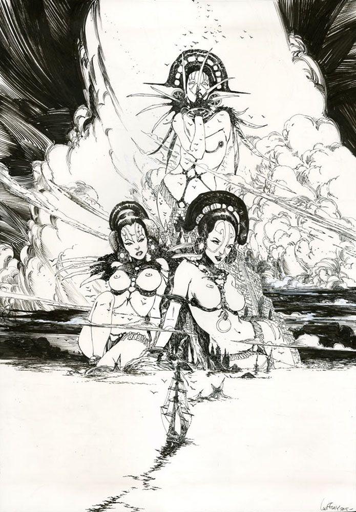 Bandes dessinées : Long John Silver, Prophet, Légion   Mathieu Lauffray