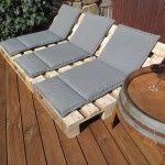 Paletten-Lounge part zwo