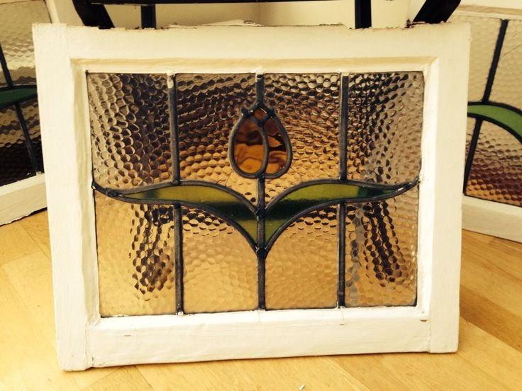 1930s window. Very simple.