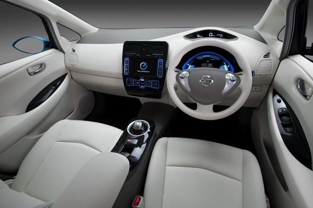 2010 Nissan Leaf electric car: