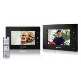 "Kocom Colour hands Free Video 7"" Wide Screen KCV-D374 with Slimline door station"