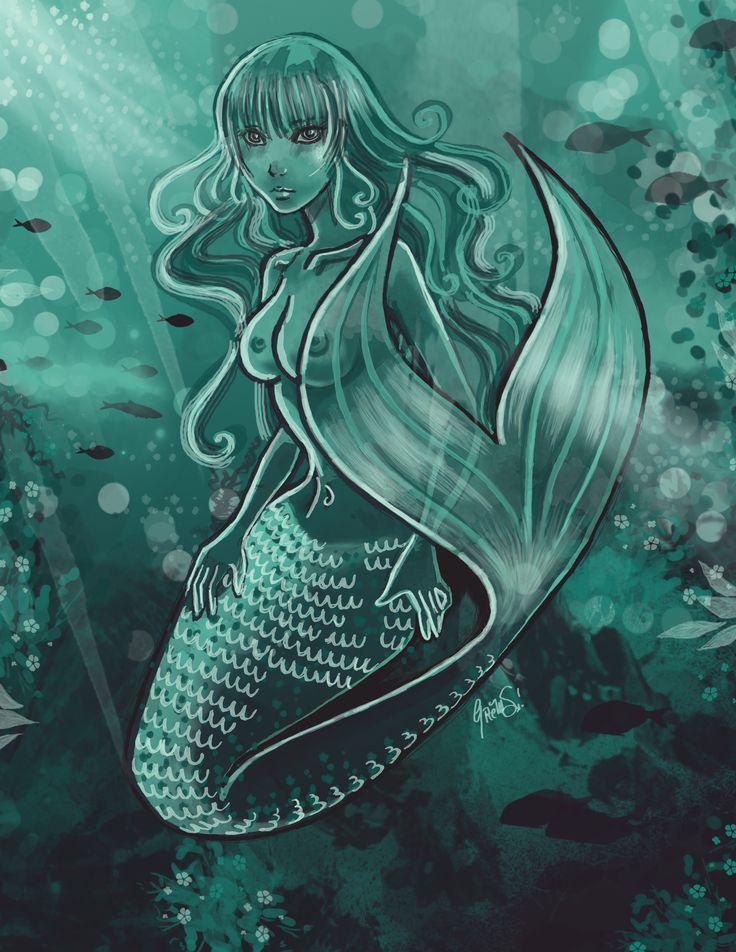 #mermaid #siren #ocean