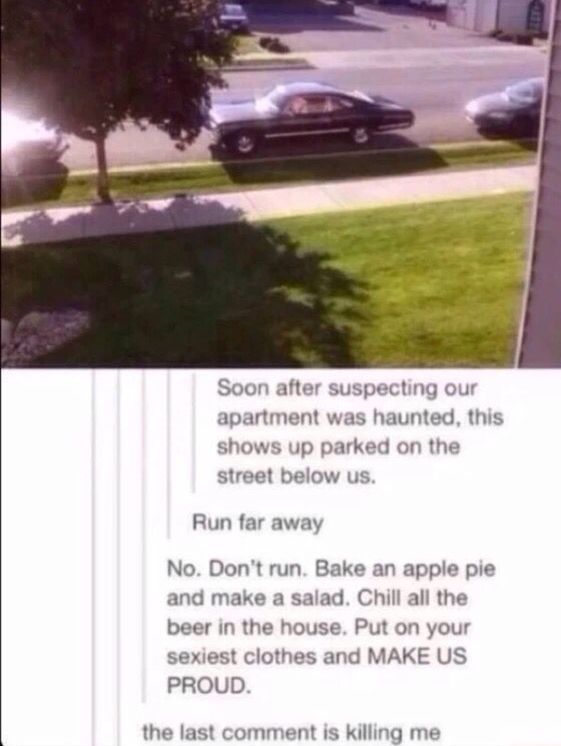 what to do when Sam & Dean show up at your house ;D