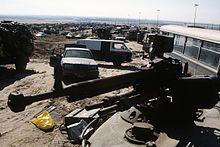 Highway of Death in Kuwait