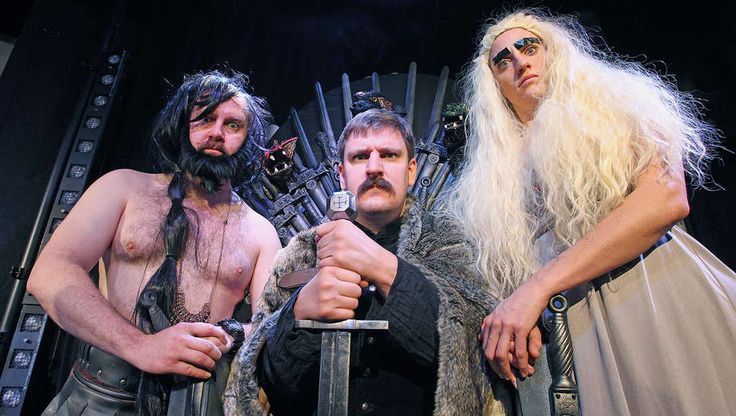 * Three Old Friends Recreate Game of Thrones With Puppets & Lots of Costume Changes, $22 - Save 50%
