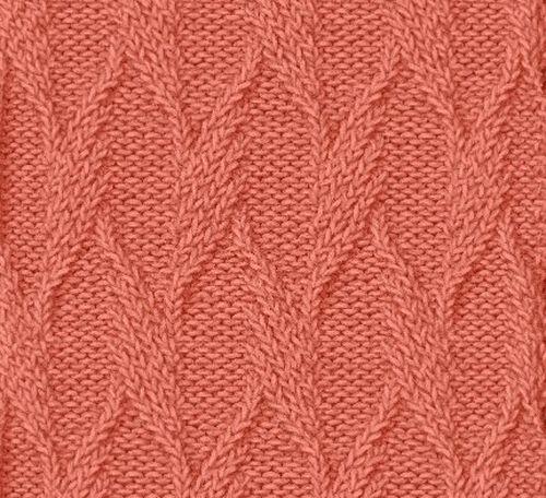 № 71 Узор для детского вязания спицами