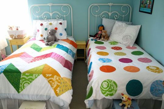 Great quilts - especially love that zigzag