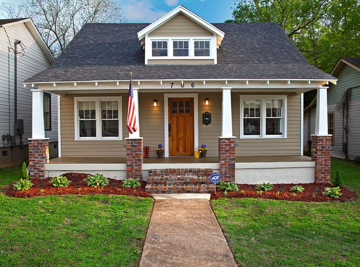 28 best simple exteriors xs images on pinterest for California bungalow vs craftsman